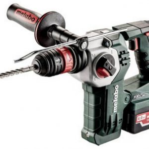 Accucombihamer Metabo KHA 18 LTX BL 24 Quick LiHD Incl. 2 accus, Incl. accessoires