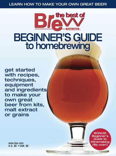 'Beginner's guide to homebrewing'